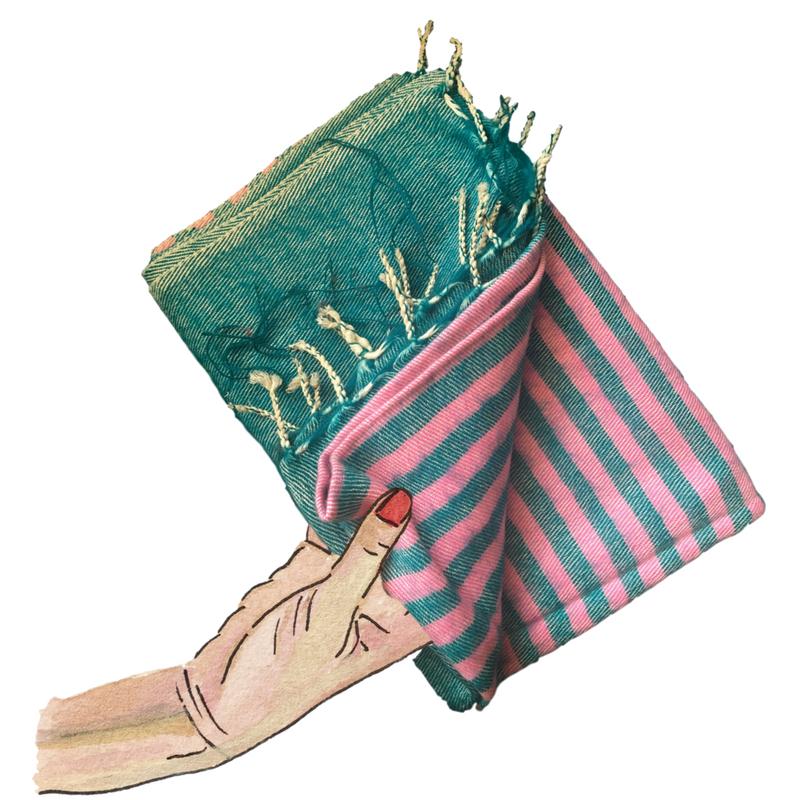 yak wool scarves