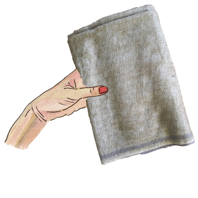 ölav - yak wool scarf