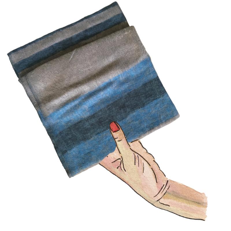 leif - yak wool scarf
